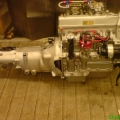1247 Climax mated to DWR Close ratio gearbox.